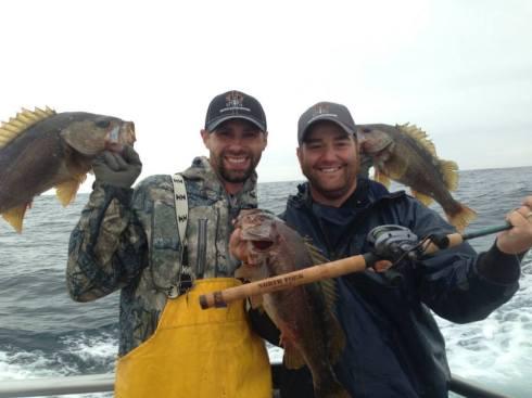 Kelly and Brady Rockfish